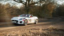 UK Drive: Jaguar F-Type rally car