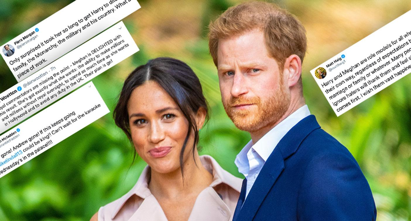 'Racism, scrutiny and vitriol': The world reacts to Royal split