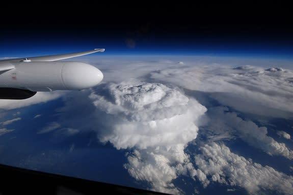 Massive Supercell Swells High Over Carolinas (Photo)