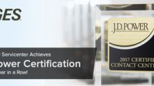 GES Earns Prestigious J.D. Power Certification for the Ninth Year in a Row