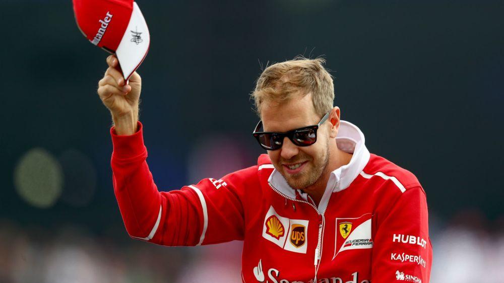 This is Hamilton's day, says beaten Vettel
