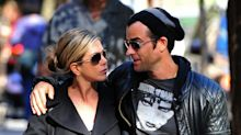 Jennifer Aniston and Justin Theroux back together as they mourn beloved dog Dolly