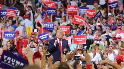 Trump formally kicks off 2020 re-election campaign