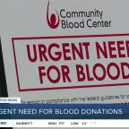 Urgent need for blood donations
