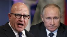 McMaster rips Russian 'campaigns of subversion'