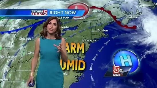 Cindy Fitzgibbon's Thursday afternoon forecast