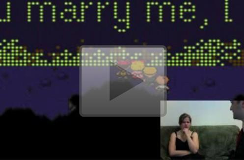 Guy hacks marriage proposal into Earthbound