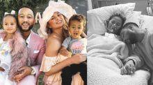 Chrissy Teigen y John Legend comparten sus momentos de dolor tras perder el bebé que esperaban