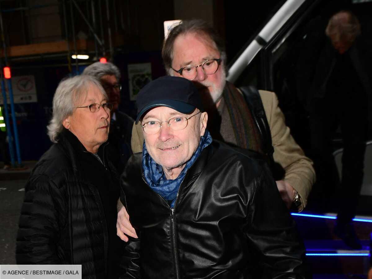 Phil Collins très amaigri et fragile : ces images qui inquiètent