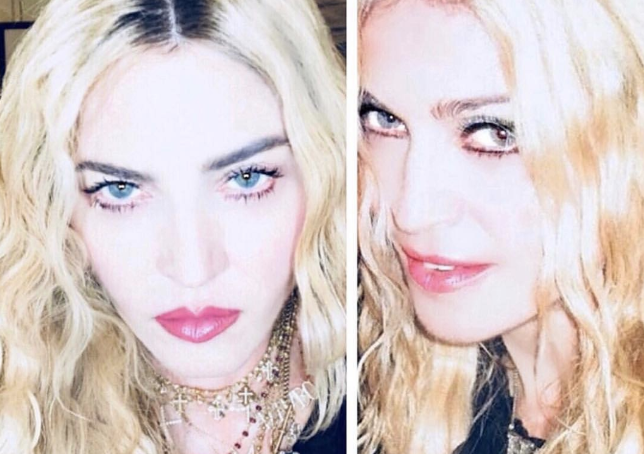 Madonna shaded over 'retouched' #10Yearchallenge post: 'Are you sure this isn't edited'