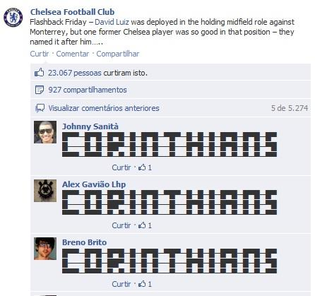 Chelsea Facebook