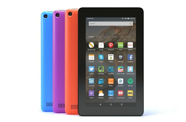 Amazon's Fire tablet gets a 16GB option and three new colors