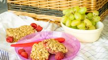 Easy recipes for picnic food: Raspberry crumble flapjacks and Cornish pasties