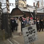 Holocaust Memorial Day: World leaders and survivors mark 75th anniversary of Auschwitz liberation with calls to defeat antisemitism