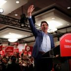Canada's Trudeau dons bulletproof vest for campaign event, CBC cites threat