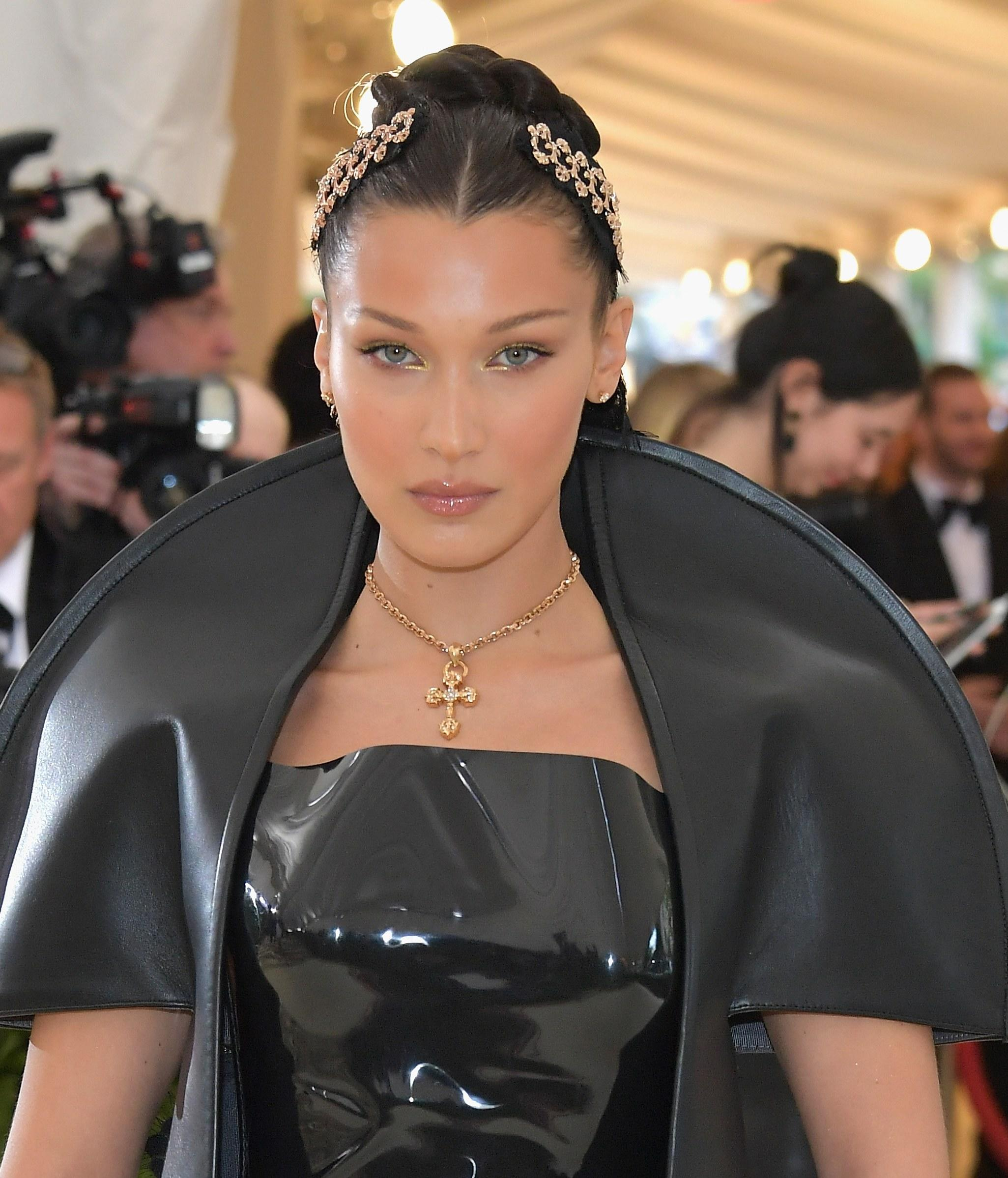 Image result for Gold-Flecked Eyes: Bella Hadid