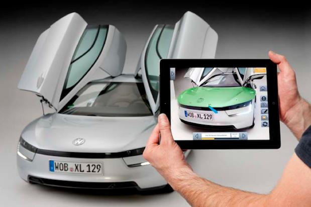 Volkswagen develops augmented reality service manual for the XL1