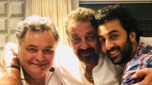 Rishi-Ranbir Kapoor & Alia Bhatt Meet the Real Sanju