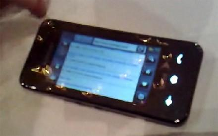 Video: Samsung Instinct UI walkthrough