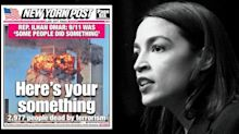Ocasio-Cortez backs boycott of New York Post over cover attacking Ilhan Omar