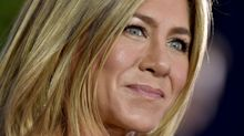 Jennifer Aniston looks *so* good in vintage Dior at the Emmys
