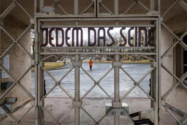 56,000 people perished in the main camp at Buchenwald (AFP Photo/JENS SCHLUETER)