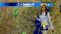 Ava: AM sprinkles possible; Clouds and sun later