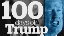 Trump's first 100 days: By the numbers