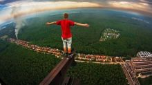 On a high: the photographer risking his life for amazing photos in Russia