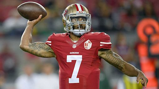 Colin Kaepernick picks worst time to take a stand on national anthem