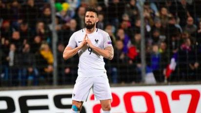 Les notes de la France face au Luxembourg