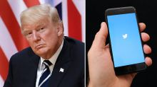 Twitter suspends users who hope Trump dies from Covid