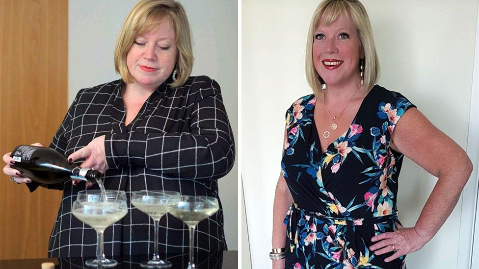 Woman loses 40kg after being shamed at a funeral