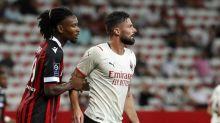 Giroud lascia subito il segno: il Milan fa 1-1 a Nizza, esordio anche per Maignan