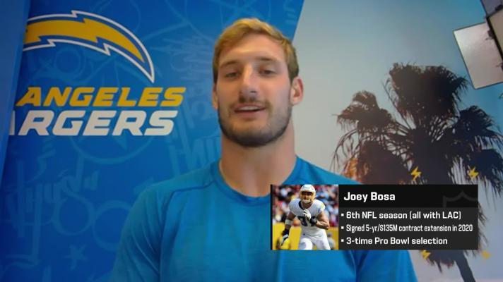 Joey Bosa explains how he will go against former college teammate Ezekiel Elliott