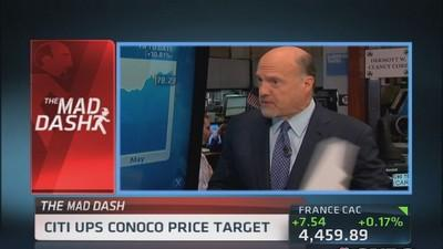 Cramer's Mad Dash: COP strong