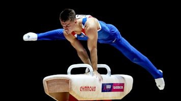 Max Whitlock offers some light relief in lockdown with gymnastics workout