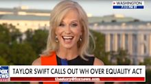 Kellyanne Conway Accidentally Torches Trump With Painful Singing Attempt