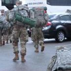 Indiana National Guard Members Deploy for Inauguration Duty in Washington