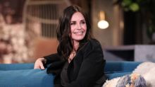 Courteney Cox celebrates 56th birthday in a bikini: 'Gracefully diving into this next year'