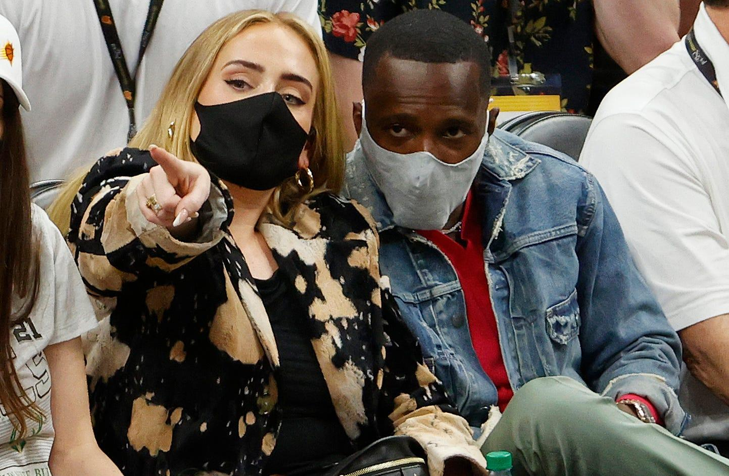 Report: LeBron James' agent Rich Paul and Adele are dating as the singer makes rare appearance at NBA Finals