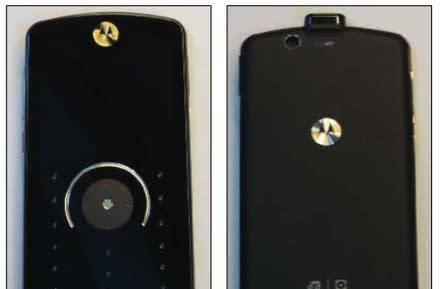 Motorola's ROKR E8 with magical keypad hits FCC