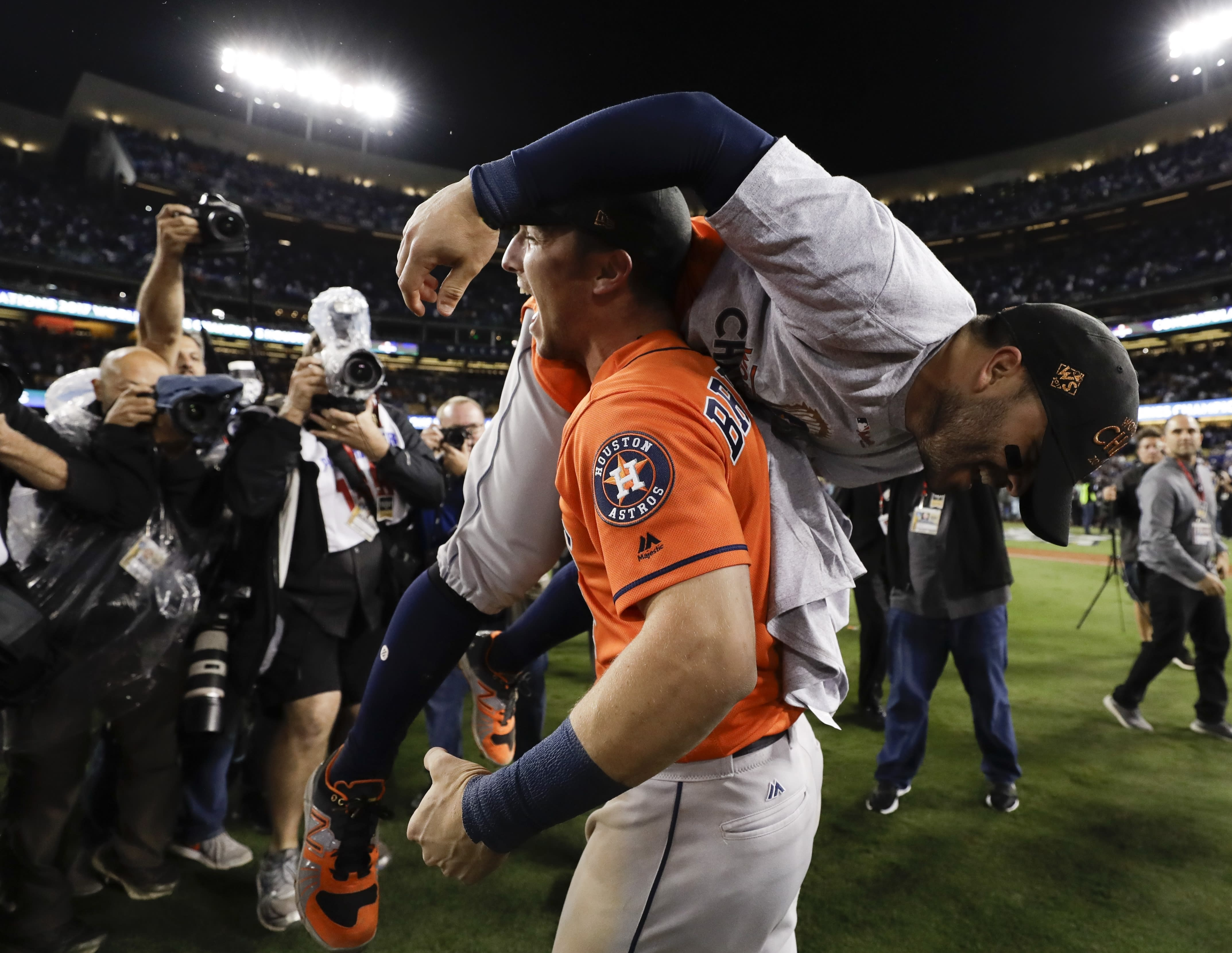b72d12796a4 Astros win Game 7 over Dodgers to win first World Series