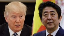 Trump hosts Japan's Abe for talks and golf at Mar-a-Lago