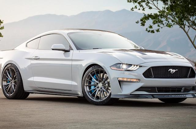Ford's electric Mustang project car packs a manual transmission