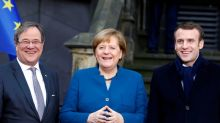 State premier Laschet is frontrunner to succeed Merkel: party sources