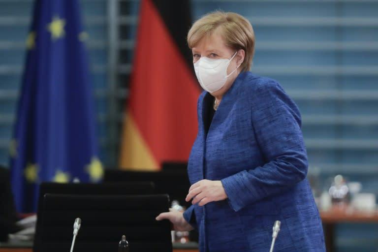 Merkel eyes tough new curbs to tame virus before Christmas