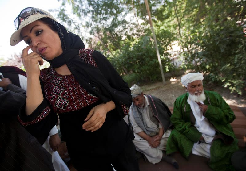 Afghanistan policewoman turned filmmaker wounded in gun attack