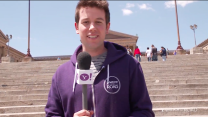 On The Road - Ben Lyons Tackles the Rocky Steps