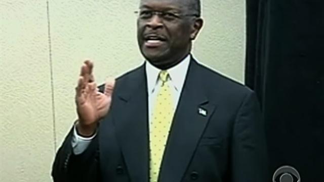 Cain rejects questions on sex assault accusations